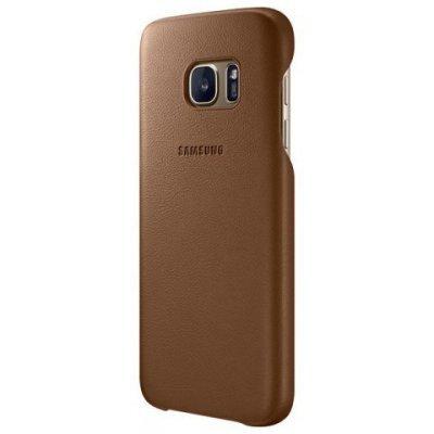 Чехол для смартфона Samsung для Galaxy S7 Leather Cover коричневый (EF-VG930LDEGRU) (EF-VG930LDEGRU)Чехлы для смартфонов Samsung<br>Чехол (клип-кейс) Samsung для Samsung Galaxy S7 Leather Cover коричневый (EF-VG930LDEGRU)<br>