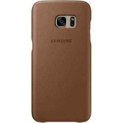 Чехол для смартфона Samsung для Galaxy S7 edge Leather Cover коричневый (EF-VG935LDEGRU) (EF-VG935LDEGRU)Чехлы для смартфонов Samsung<br>Чехол (клип-кейс) Samsung для Samsung Galaxy S7 edge Leather Cover коричневый (EF-VG935LDEGRU)<br>