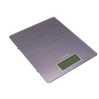 Весы кухонные Lumme LU-1318 лиловый аметист (LU-1318 лиловый аметист)