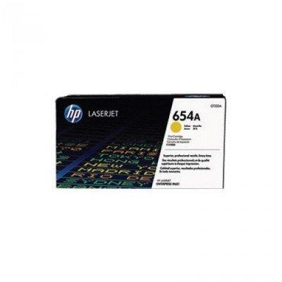 Тонер-картридж для лазерных аппаратов HP 654A Ylw (CF332AC)Тонер-картриджи для лазерных аппаратов HP<br>HP 654A желтый для HP Color LaserJet Enterprise M651n/M651dn/M651xh/M680dn/M680f/HP Color LaserJet Enterprise Flow M680z (15000стр.) (в технологической упаковке)<br>