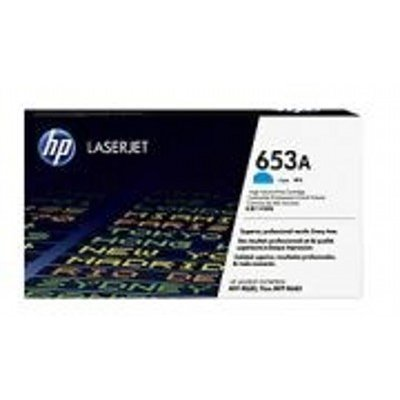 Тонер-картридж для лазерных аппаратов HP 653A Cyn (CF321AC)Тонер-картриджи для лазерных аппаратов HP<br>HP 653A голубой для Color LaserJet Enterprise M651n/M651dn/M651xh/M680dn/M680f/HP Color LaserJet Enterprise Flow M680z (16000стр.) (в технологической упаковке)<br>