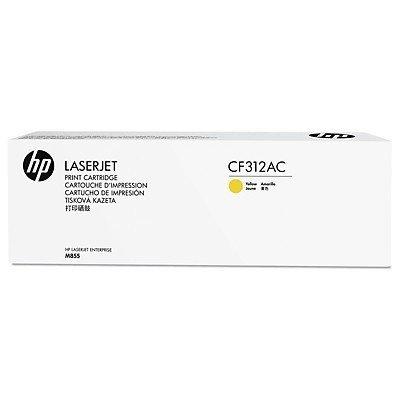 Тонер-картридж для лазерных аппаратов HP 826A Ylw (CF312AC)Тонер-картриджи для лазерных аппаратов HP<br>HP желтый для HP Color LaserJet Enterprise M855 826A (в технологической упаковке)<br>