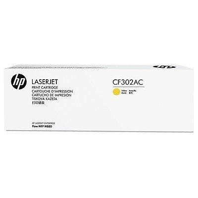 Тонер-картридж для лазерных аппаратов HP 827A Yellow (CF302AC)Тонер-картриджи для лазерных аппаратов HP<br>HP желтый для HP Color LaserJet Enterprise M880 827A (в технологической упаковке)<br>