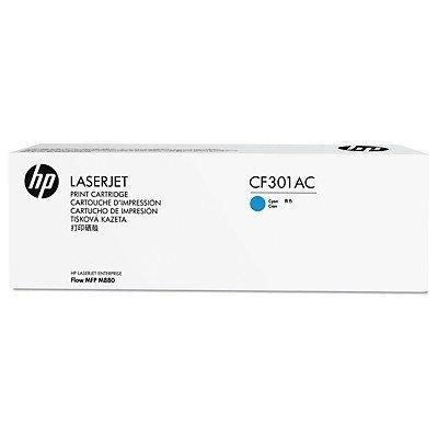 Тонер-картридж для лазерных аппаратов HP 827A Cyan (CF301AC)Тонер-картриджи для лазерных аппаратов HP<br>HP CF301AC голубой для HP Color LaserJet Enterprise M880 827A (в технологической упаковке)<br>
