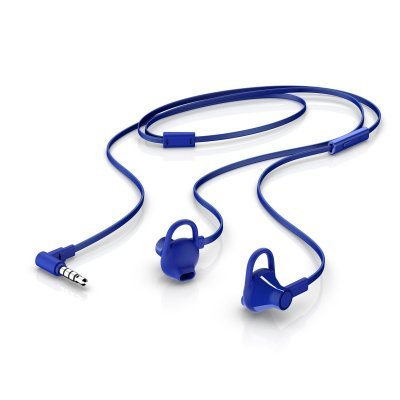 Наушники HP In-Ear Headset 150 голубой (X7B05AA)Наушники HP<br>Наушники HP In-Ear Headset 150 голубой<br>