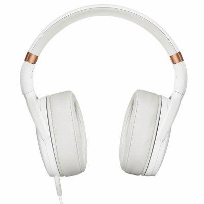 Наушники Sennheiser HD 4.30G белый (HD 4.30G WHITE)Наушники Sennheiser<br>Наушники Sennheiser/ накладные закрытые 18-22000Гц 1,4м съемный, gold 3.5мм, 120дБ, 3-кнопочный ПДУ, микрофон, для Android, чехол, белые<br>