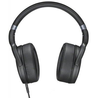 Наушники Sennheiser HD 4.30G черный (HD 4.30G BLACK)Наушники Sennheiser<br>Наушники Sennheiser/ накладные закрытые 18-22000Гц 1,4м съемный, gold 3.5мм, 120дБ, 3-кнопочный ПДУ, микрофон, для Android, чехол, черные<br>
