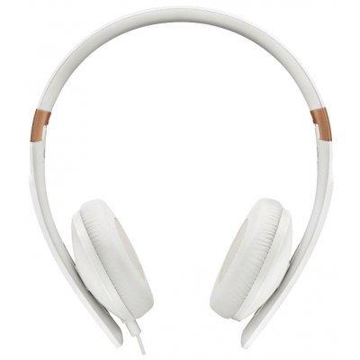 Наушники Sennheiser HD 2.30I белый (HD 2.30I WHITE)Наушники Sennheiser<br>Наушники Sennheiser/ накладные, складные, закрытые 18-22000Гц 1,4м съемный, gold 3.5мм, 120дБ, 3-кнопочный ПДУ, микрофон, для Apple, чехол, белые<br>