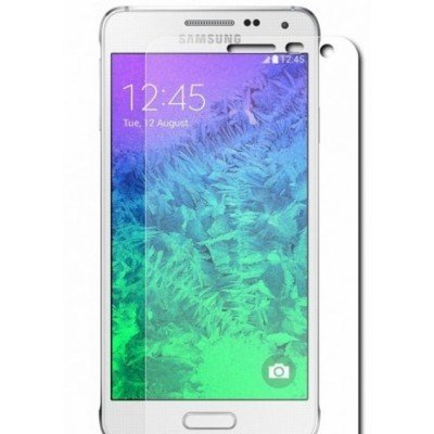 Пленка защитная для смартфонов Samsung Galaxy Alpha SM-G850F (ET-FG850CTEGRU)Пленки защитные для смартфонов Samsung<br>Защитная пленка для экрана Samsung ET-FG850CTEGRU для Samsung Galaxy Alpha прозрачная 2шт.<br>