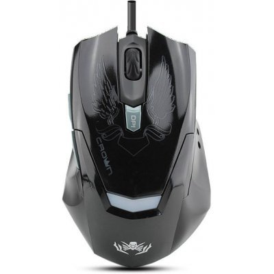 Мышь Crown CMXG-1100 черный (CM000001353, CMXG-1100 Black (BLAZE))Мыши Crown<br>Мышь CROWN Gaming CMXG-1100 Black (BLAZE)<br>