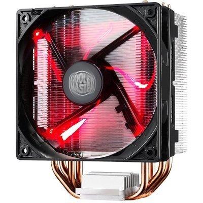 Кулер для процессора CoolerMaster Hyper 212 LED (RR-212L-16PR-R1) (RR-212L-16PR-R1)Кулеры для процессоров CoolerMaster<br>для процессора, поддерживаемый сокет: 775, 1150, 1151, 1155, 1156, 2011, 2011-3, AM2+, AM3, AM3+, FM1, FM2, FM2+, количество вентиляторов 1, скорость вращения 600 - 1600 об/мин, материал: алюминий + медь, с подсветкой цвет: красный (RR-212L-16PR-R1)<br>