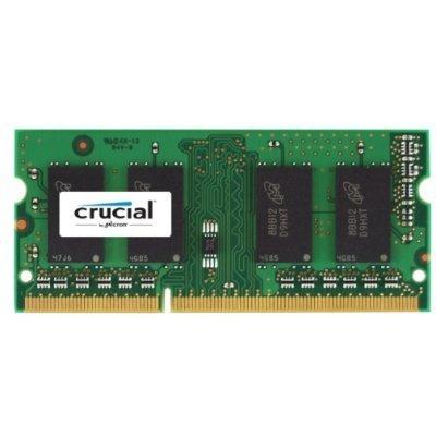 Модуль оперативной памяти ПК Crucial CT51264BF186DJ (CT51264BF186DJ)Модули оперативной памяти ПК Crucial<br>Тип: DDR3L, объём: 1 модуль на 4Gb, тактовая частота: 1866 MHz, форм-фактор: SODIMM 204-контактный, скорость: PC-14900, поддержка ECC: нет, Low Profile: нет, Registered: нет (CT51264BF186DJ)<br>