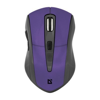 Мышь Defender Accura MM-965 Violet USB (52969) беспроводная оптическая мышь defender accura mm 965 голубой 6кнопок 800 1600dpi