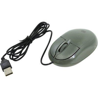 Мышь Defender MS-900 серый (52904)Мыши Defender<br>Проводная, оптическая, 3 кнопки, интерфейс подключения: USB, цвет: серый (52904)<br>