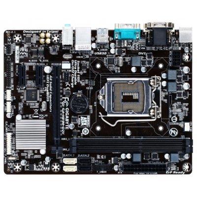 Материнская плата ПК Gigabyte GA-H81M-D2V (rev. 2.1) (GA-H81M-D2VV2.1)Материнские платы ПК Gigabyte<br>материнская плата форм-фактора microATX<br>сокет LGA1150<br>чипсет Intel H81<br>2 слота DDR3 DIMM, 1333-1600 МГц<br>разъемы SATA: 3 Гбит/с - 2; 6 Гбит/с - 2<br>