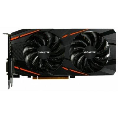 Видеокарта ПК Gigabyte Radeon RX 480 1266Mhz PCI-E 3.0 8192Mb 8000Mhz 256 bit DVI HDMI HDCP WindForce (GV-RX480WF2-8GD)Видеокарты ПК Gigabyte<br>видеокарта AMD Radeon RX 480<br>8192 Мб видеопамяти GDDR5<br>частота ядра/памяти: 1266/8000 МГц<br>поддержка режима SLI/CrossFire<br>разъемы HDMI, DisplayPort x3<br>поддержка DirectX 12, OpenGL 4.5<br>работа с 5 мониторами<br>