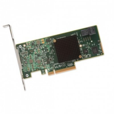 Контроллер RAID LSI H5-25473-00 (H5-25473-00)Контроллеры RAID LSI<br>Рейдконтроллер SAS PCIE 4P HBA 9300-4I LSI00346 SGL LSI<br>