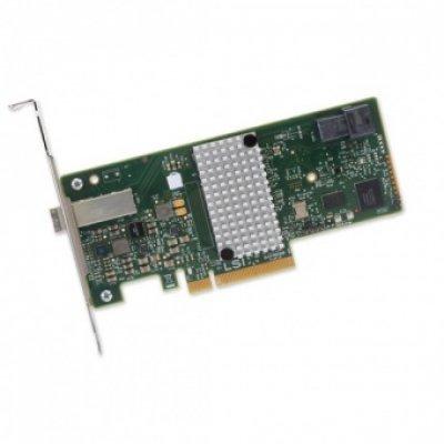 Контроллер RAID LSI H5-25515-00 (H5-25515-00)Контроллеры RAID LSI<br>Рейдконтроллер SAS PCIE 8P HBA 9300-4I4E LSI00348 SGL LSI<br>