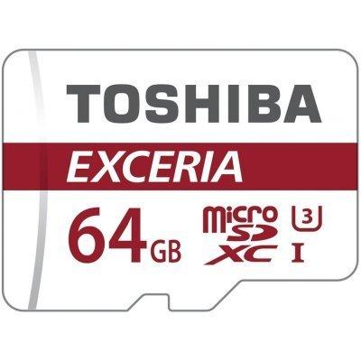 Карта памяти Toshiba THN-M302R0640EA (THN-M302R0640EA)Карты памяти Toshiba<br>64GB microSD SDHC Class10 UHS-1<br>
