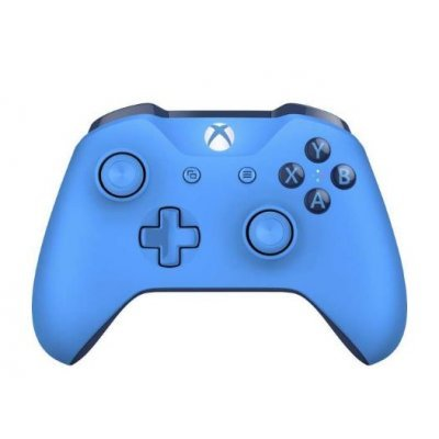 Геймпад для игровой приставки Microsoft Xbox One wireless gamepad NEW - Blue + 3,5 mm + Bluetooth (WL3-00020)