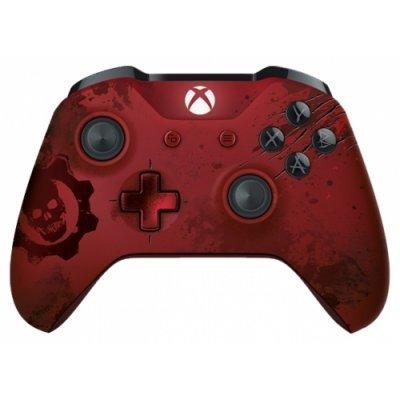 Геймпад для игровой приставки Microsoft Xbox One Wireless Controller Gears of War 4 Crimson Omen (WL3-00003)