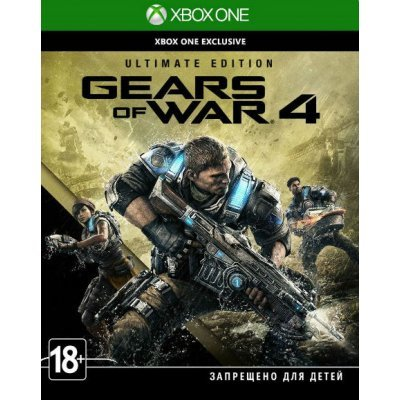 Игра для игровой консоли Microsoft Gears of War 4 Ultimate Edition [X1] (26F-00020) игра gears of war ultimate edition для xbox one