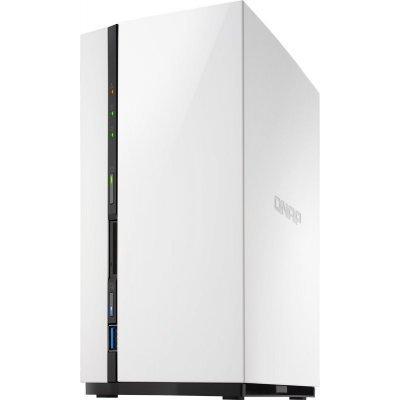 Сетевой накопитель NAS Qnap TS-228 (TS-228)Сетевые накопители NAS Qnap<br>сетевой накопитель, 1 гигабитный LAN-порт, 2 места для HDD, форм-фактор 3.5, ARM v7 1100 МГц, 2 ядра, 1 Гб DDR3<br>