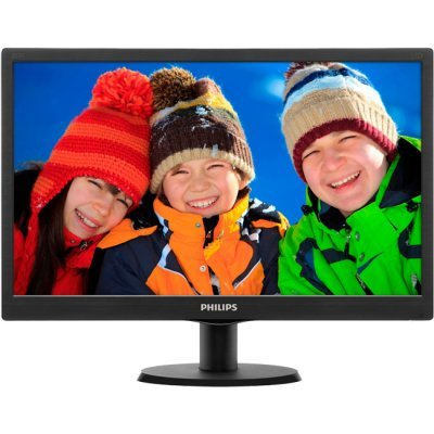 Монитор Philips 19.5Q 200V4QSBR/01 (200V4QSBR/01)Мониторы Philips<br>19,53 Philips 200V4QSBR 1920x1080 MVA LED 16:9 8ms VGA DVI-D 10M:1 178/178 250cd Black.<br>