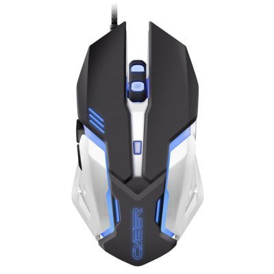 Мышь OKLICK 855G черный/серый (GM-08M)Мыши OKLICK<br>Мышь Oklick 855G черный/серый оптическая (2400dpi) USB игровая (5but)<br>