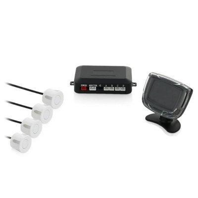 Парктроник Rolsen RPS-300W белый (1-RLCA-RPS-300W)Парктроники Rolsen<br>Производитель Rolsen<br>Цвет Белый<br>Тип установки Комбинированный<br>Цвет внешних датчиков белый<br>Количество датчиков 4<br>Индикатор обнаружения Звуковой<br>Гарантия фирмы производителя 1 г.<br>Камера заднего вида<br>