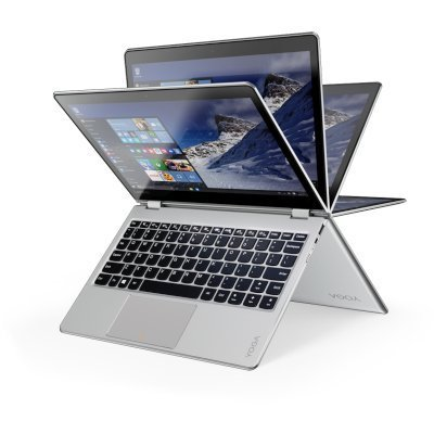 Ультрабук-трансформер Lenovo IdeaPad Yoga 710-11 (80V6000GRK) (80V6000GRK)Ультрабуки-трансформеры Lenovo<br>YOGA 710-11ISK, 11.6 FHD IPS Touch, 7Y54, 8GB, 256GB SSD, Integrated, WiFi, BT, WebCam, 4 cell, Win 10, Silver<br>