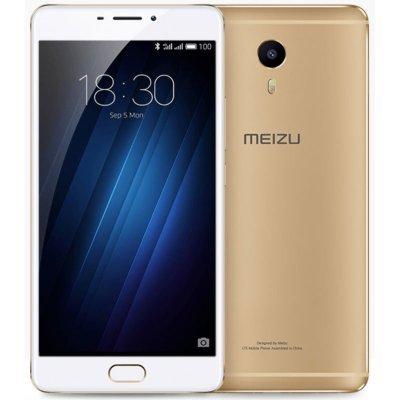 Смартфон Meizu M3 Max 64Gb золотистый (S685H 64GB GOLD)Смартфоны Meizu<br>Смартфон Meizu M3 Max S685H 64Gb золотистый моноблок 3G 4G 2Sim 6 Android 6.0 802.11bgn BT GPS<br>