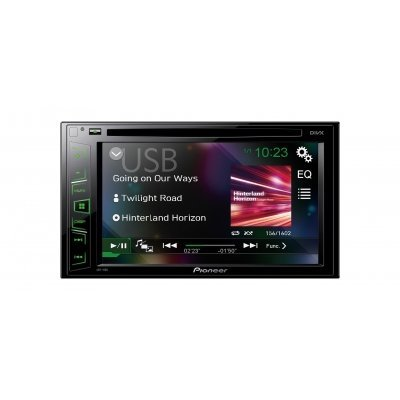 Автомагнитола Pioneer AVH-190G (AVH-190G) автомагнитола pioneer avh x5800bt 7 800x480 usb mp3 cd dvd fm rds 2din 4x50вт черный