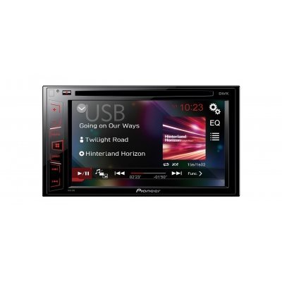 Автомагнитола Pioneer AVH-190 (AVH-190) автомагнитола pioneer avh x5800bt 7 800x480 usb mp3 cd dvd fm rds 2din 4x50вт черный