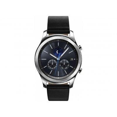 Умные часы Samsung Galaxy Gear S3 classic SM-R770 серебристый (SM-R770NZSASER) умные часы samsung sm r7200zkaser gear s2 black