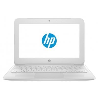 Ноутбук HP Stream 11-y006ur (Y7X25EA) (Y7X25EA)Ноутбуки HP<br>Ноутбук HP Stream 11-y006ur Celeron N3050/4Gb/SSD32Gb/Intel HD Graphics/11.6/HD (1366x768)/Windows 10 64/white/WiFi/BT/Cam<br>