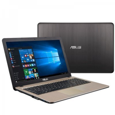 Ноутбук ASUS X540LJ-XX755T (90NB0B11-M11210) (90NB0B11-M11210)Ноутбуки ASUS<br>ASUS X540LJ-XX755T XMAS 15.6HD/i3-5005U/4GB/500GB/GF 920M/noODD/WiFi/BT/Windows 10/Chocolate Black<br>