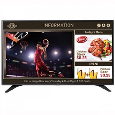 ЖК панель LG 49 49LW540S-ZA (49LW540S-ZA)ЖК панели LG<br>LG Commercial TV 49&amp;amp;#039;&amp;amp;#039; Full HD,300cd/m2,Tuner DVB-T2/C/S2,Hotel Mode,50 Hz,Remote Controller, Power Cable, Manual<br>