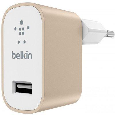 все цены на  Зарядное устройство для смартфонов Belkin Universal Home Charger, 2.4A, Gold (F8M731vfGLD)  онлайн