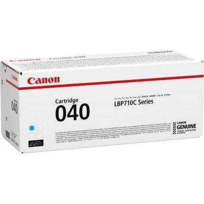 Тонер-картридж для лазерных аппаратов Canon CRG 040 C (0458C001)Тонер-картриджи для лазерных аппаратов Canon<br>картридж, cyan (голубой), для LBP710C, 5400 страниц<br>