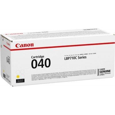 Тонер-картридж для лазерных аппаратов Canon CRG 040 Y (0454C001)Тонер-картриджи для лазерных аппаратов Canon<br>картридж, yellow (жёлтый), для LBP710C, 5400 страниц<br>