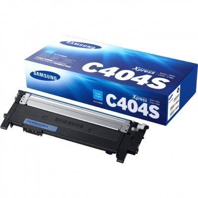 Тонер-картридж для лазерных аппаратов Samsung CLT-C404S/SEE (CLT-C404S/SEE)Тонер-картриджи для лазерных аппаратов Samsung<br>Тонер-картридж для лазерных аппаратов Samsung CLT-C404S/SEE<br>