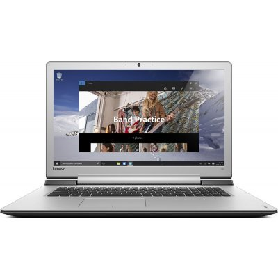 Ноутбук Lenovo IdeaPad 700-17ISK (80RV008DRK) (80RV008DRK)Ноутбуки Lenovo<br>Ноутбук Lenovo IdeaPad 700-17ISK Core i5 6300HQ/8Gb/1Tb/SSD128Gb/nVidia GeForce GTX 950M 4Gb/17.3/IPS/FHD (1920x1080)/Windows 10/black/silver/WiFi/BT/Cam<br>