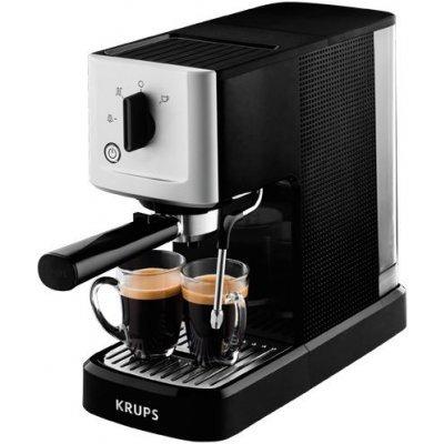 Кофемашина Krups XP344010 черный/серебристый (8000035224) krups xp 528030