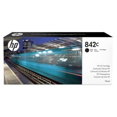 Картридж для струйных аппаратов HP 842C 775-ml Black (C1Q53A)Картриджи для струйных аппаратов HP<br>Ресурс 775 мл, цвет: черный, тип: струйный, серия: 842C, совместим с: PageWide XL 8000<br>