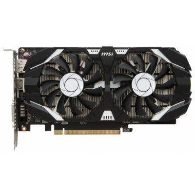 Видеокарта ПК MSI GeForce GTX 1050 1404Mhz PCI-E 3.0 2048Mb 7008Mhz 128 bit DVI HDMI HDCP OC Dual Fans (GTX 1050 2GT OC)