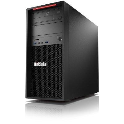 Рабочая станция Lenovo ThinkStation P310 (30AT005ARU) (30AT005ARU)Рабочие станции Lenovo<br>, TW 250W, INTEL XEON E3_1230V5 3.4GHZ, 2 x 8GB ECC 2133MHZ UDIMM, 1 x 2.5_256GB SATA SSD, 1 x 3.5_1TB SATA HDD 7200RPM, NVIDIA K1200 4G 4MDP HP, DVD-RW, WIN10 PRO64_RUSSIAN<br>