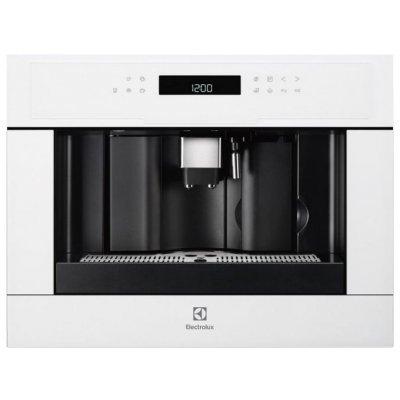 Кофемашина Electrolux EBC54524AV (EBC54524AV)Кофемашины Electrolux<br>кофеварка эспрессо<br>автоматическая<br>для зернового и молотого кофе<br>возможность встраивания<br>кофемолка с регулировкой степени помола<br>контроль крепости кофе<br>настройка температуры<br>регулировка порции воды<br>самоочистка от накипи<br>приготовление капучино<br>настройка времени старта<br>одновременная раздача на 2 чашки<br> ...<br>