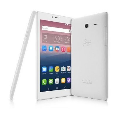 Планшетный ПК Alcatel Pixi 4 7.0 белый (8063-3BALRU1)Планшетные ПК Alcatel<br>Планшет Alcatel Pixi 4 7 MT8321 4C/RAM1Gb/ROM8Gb 7 TFT 1024x600/Android 6.0/белый/BT/WiFi<br>