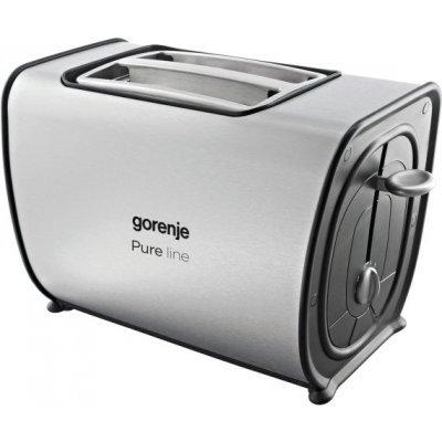 Тостер Gorenje T900E (T900E)Тостеры Gorenje<br>Тостер Gorenje T900E 870вт белый/серебристый<br>
